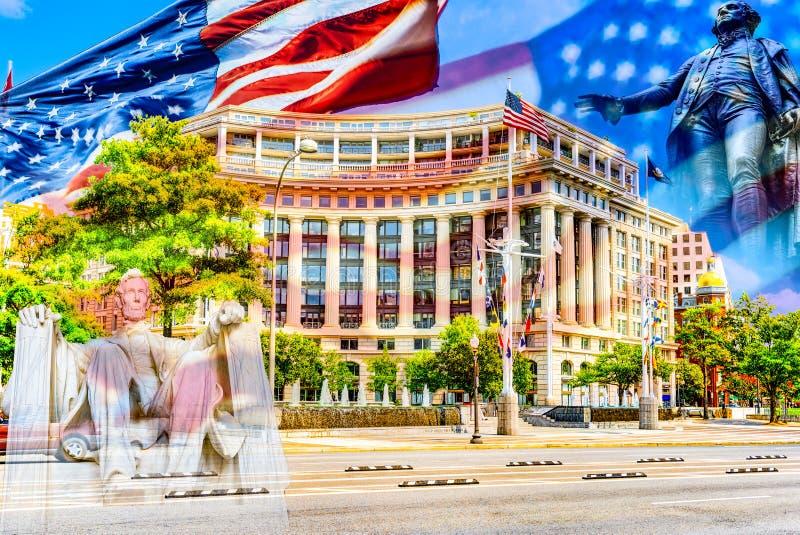 Washington, USA, William Jefferson Clinton West Building stock images