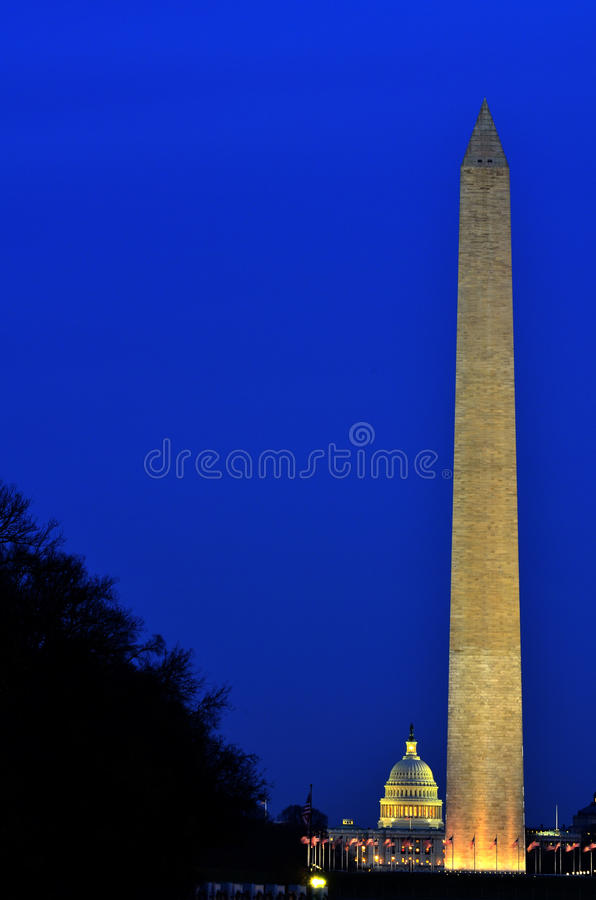 Washintgon Monument United States of America. United States of America Washington Monument in DC stock image