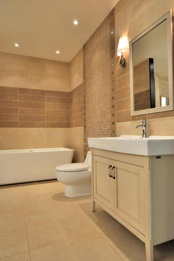 Washroom interior stock photo. Image of mirror, water - 20283086