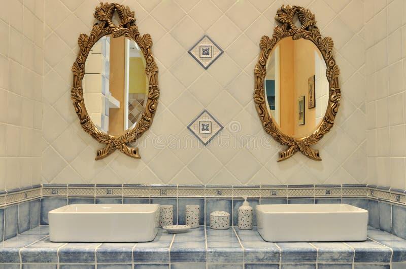 Download Washroom interior setting stock image. Image of decoration - 20930923