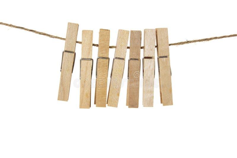 Wasknijpers stock foto