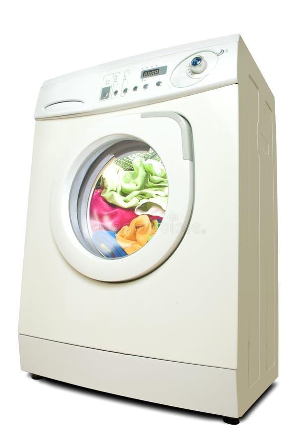 Wasmachine. stock afbeeldingen