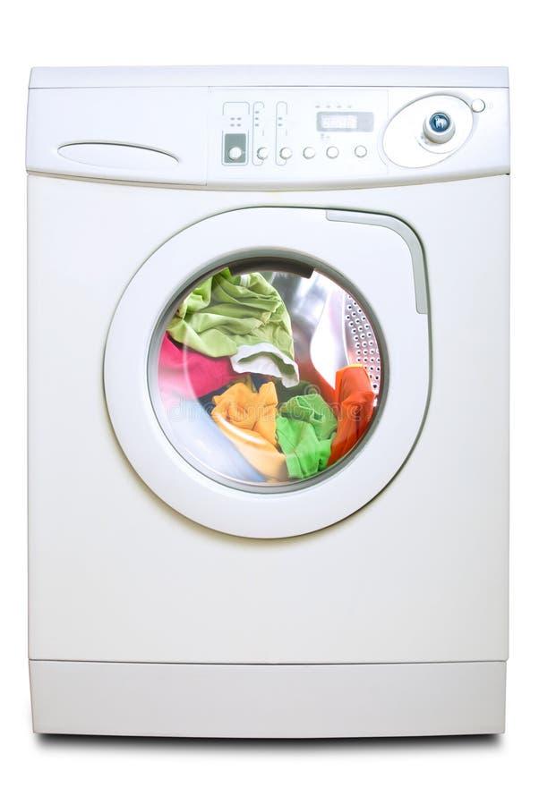Wasmachine. royalty-vrije stock afbeeldingen