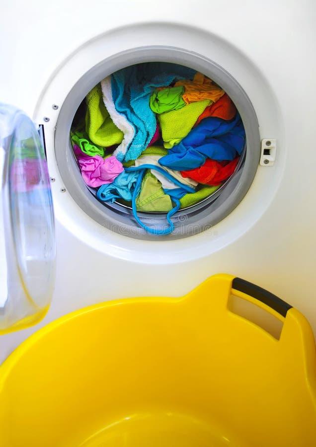 Wasmachine royalty-vrije stock afbeeldingen