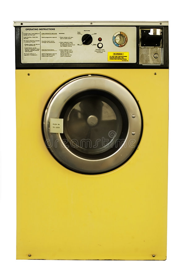 Wasmachine stock foto's