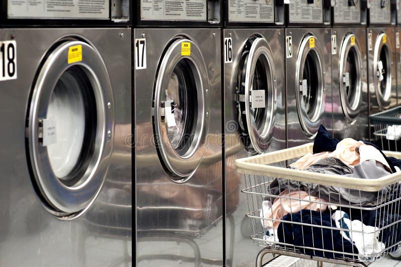 Wasmachines stock afbeeldingen