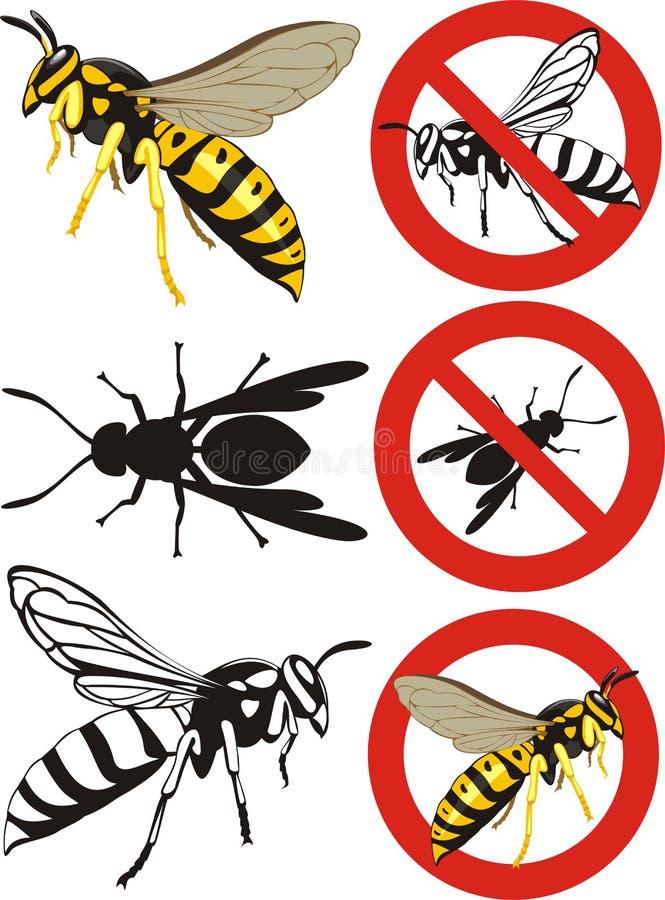 Download Wasp - Warning Signs Royalty Free Stock Image - Image: 30882726