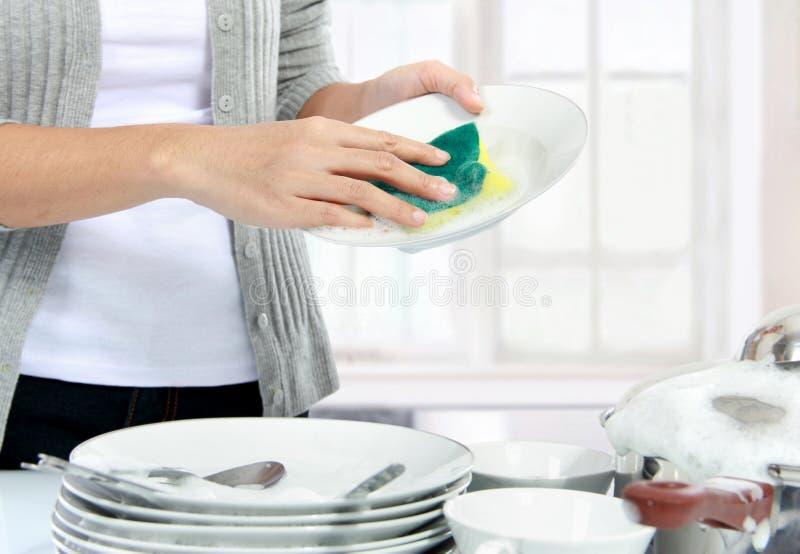 Wasschotels stock afbeeldingen
