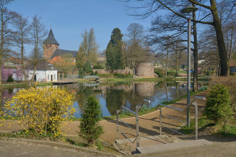 Wassenberg, более низкий регион Рейна, Германия стоковые изображения
