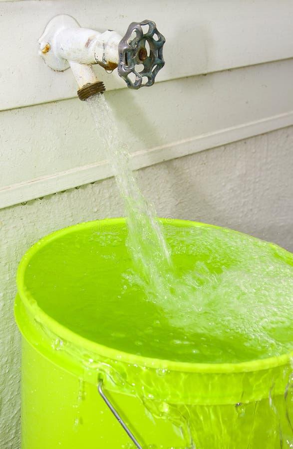 Wasser-Überschwemmung lizenzfreies stockbild