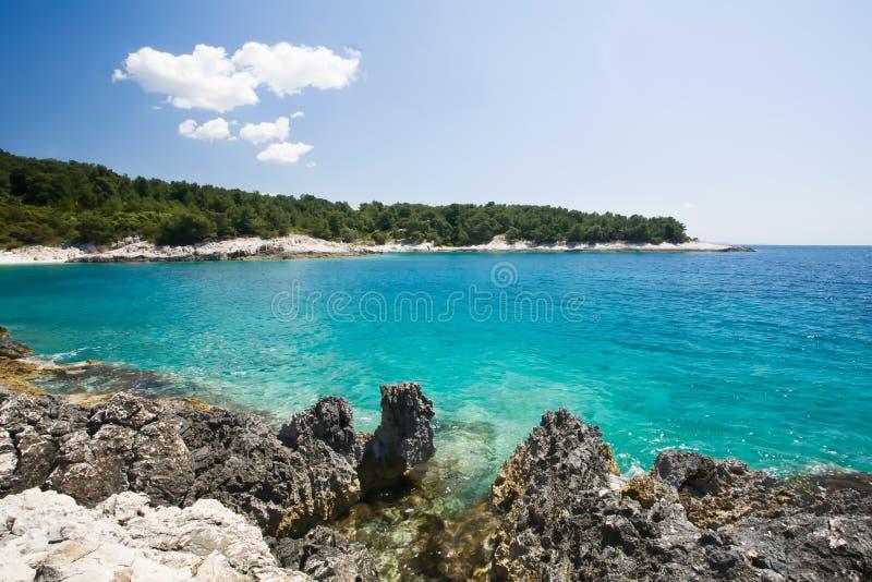 Download Wasser stockfoto. Bild von paradies, europa, dalmatia - 26361662