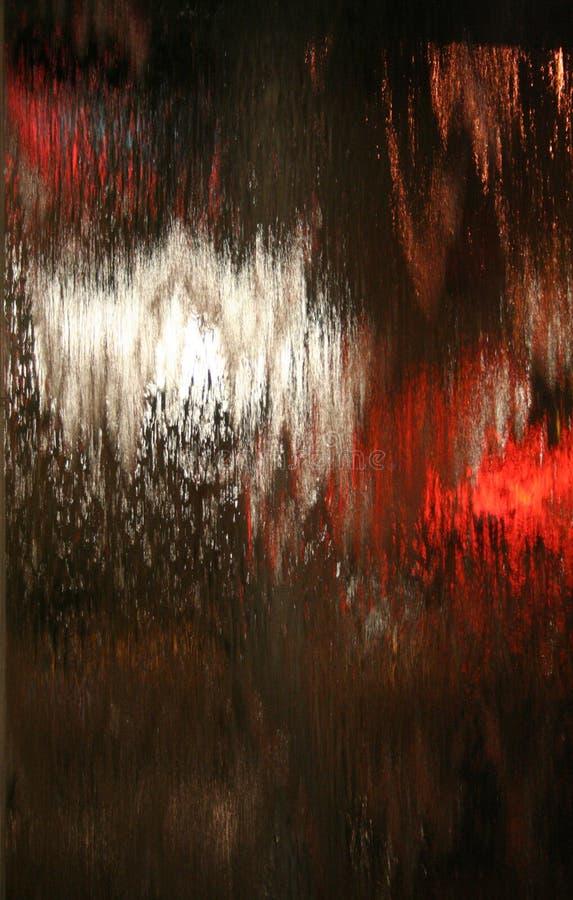 Wasser auf Glas lizenzfreie stockfotos