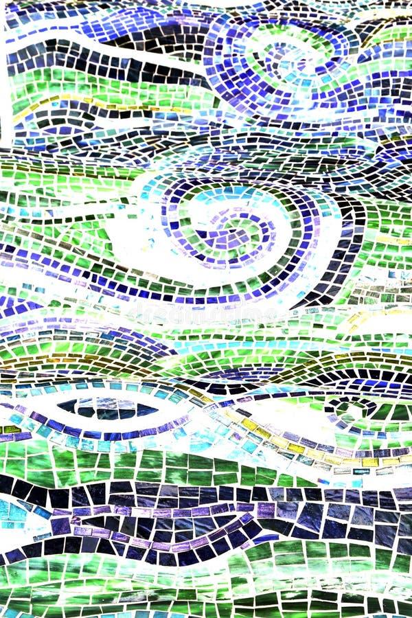 Wasser-Auszug, Mosaik Backgro stockfotos
