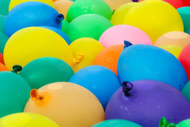 Wasser-Ballone stockbild