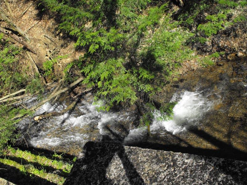 Wasser-Fall lizenzfreie stockbilder