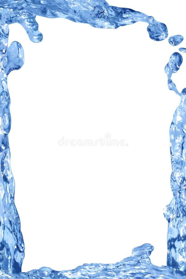 Wasser-Feld stockbild
