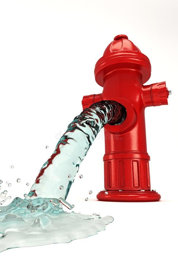 Download Wasser-Hydrant stock abbildung. Illustration von druck - 26350672