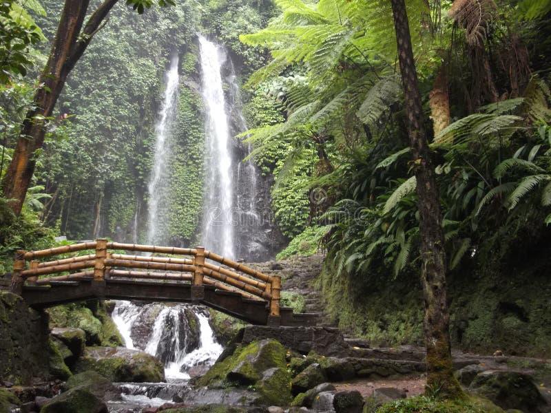Wasser Jumog-Wasserfall lizenzfreies stockbild