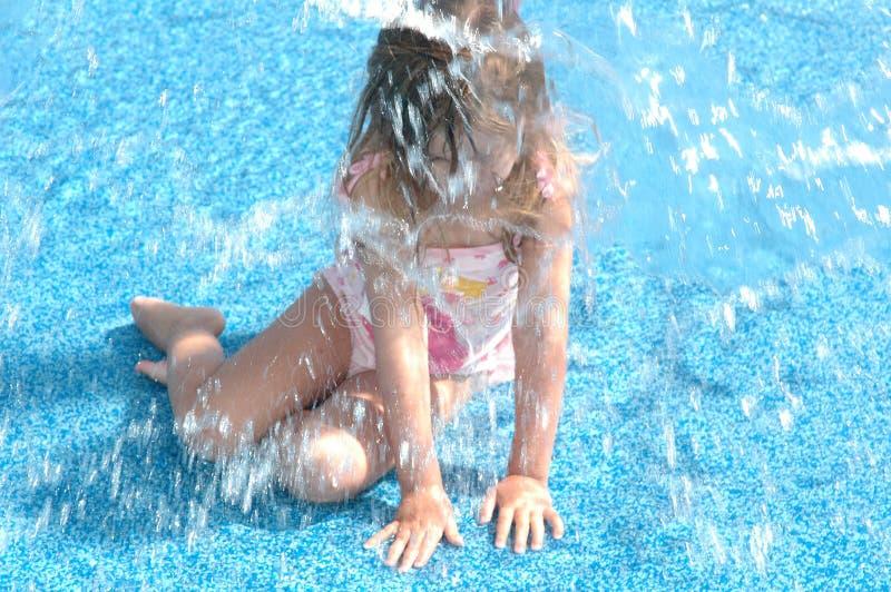 Wasser-Park-Spaß stockfotografie