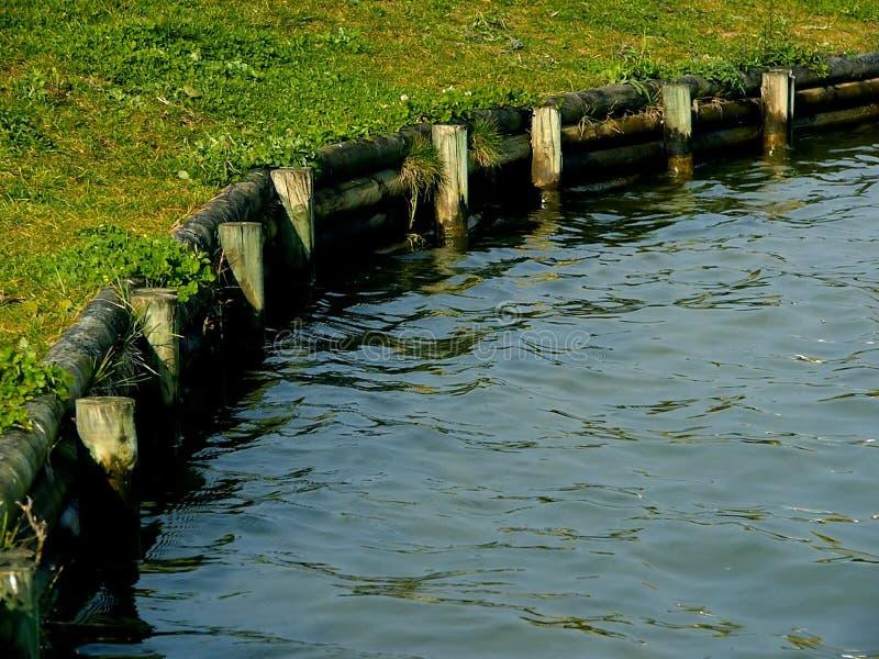 Wasser-Rand lizenzfreies stockbild
