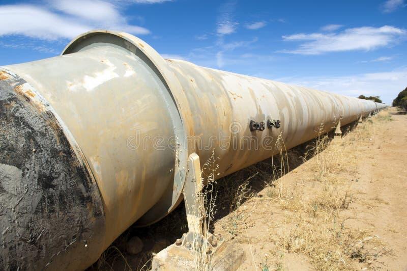 Wasser-Rohrleitung lizenzfreies stockfoto