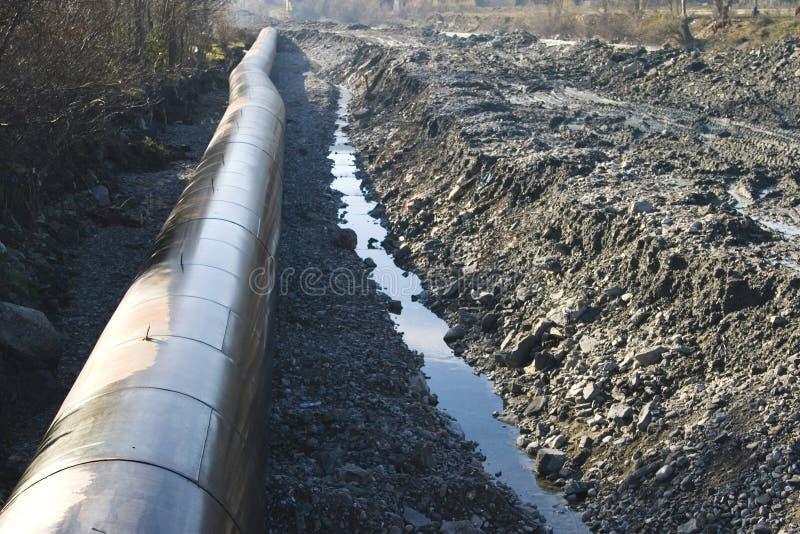 Wasser-Rohrleitung lizenzfreie stockbilder