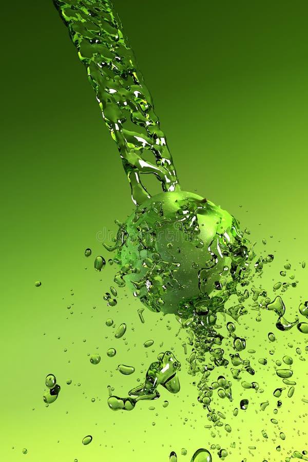 Wasser Spritzt Lizenzfreie Stockfotos