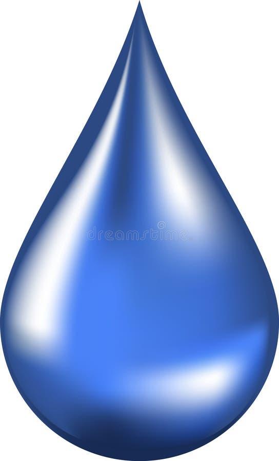 Wasser-Tropfen vektor abbildung