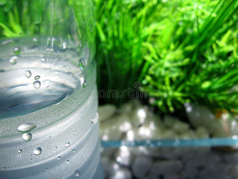 Wasser und Hintergrund stockfoto