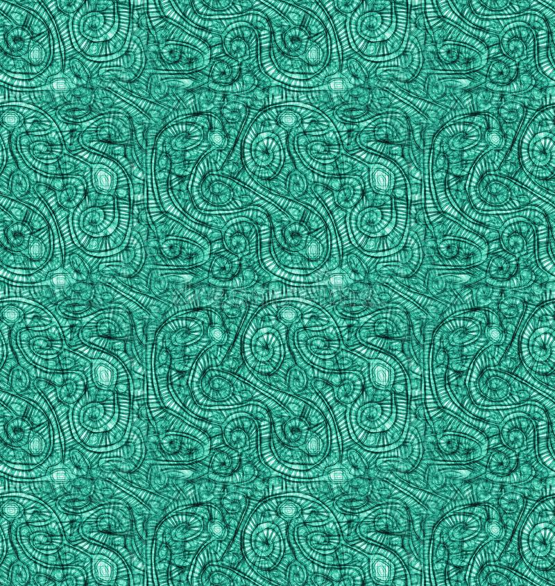 Wasser verkratzt nahtloses Muster des abstrakten Effektes lizenzfreie abbildung