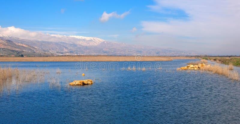 Wasser von Ammiq stockfotos