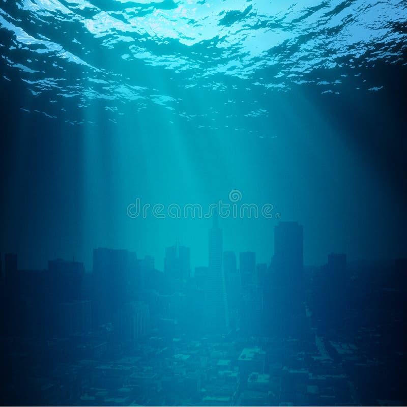 Wasser-Welt. stockfoto
