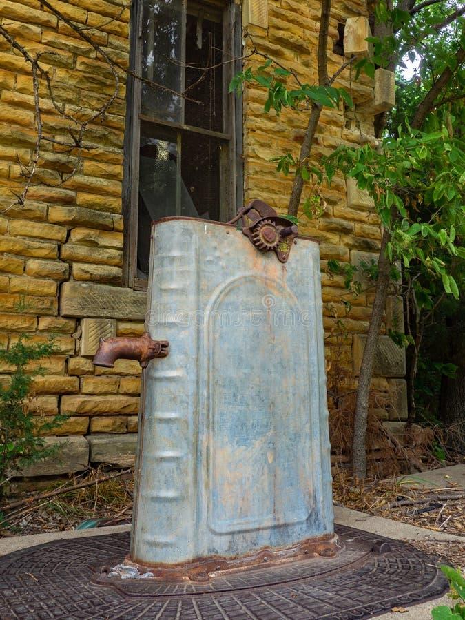 Wasser-Zisternen-Pumpe stockbilder