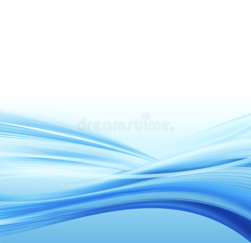 Wasserabbildung stock abbildung