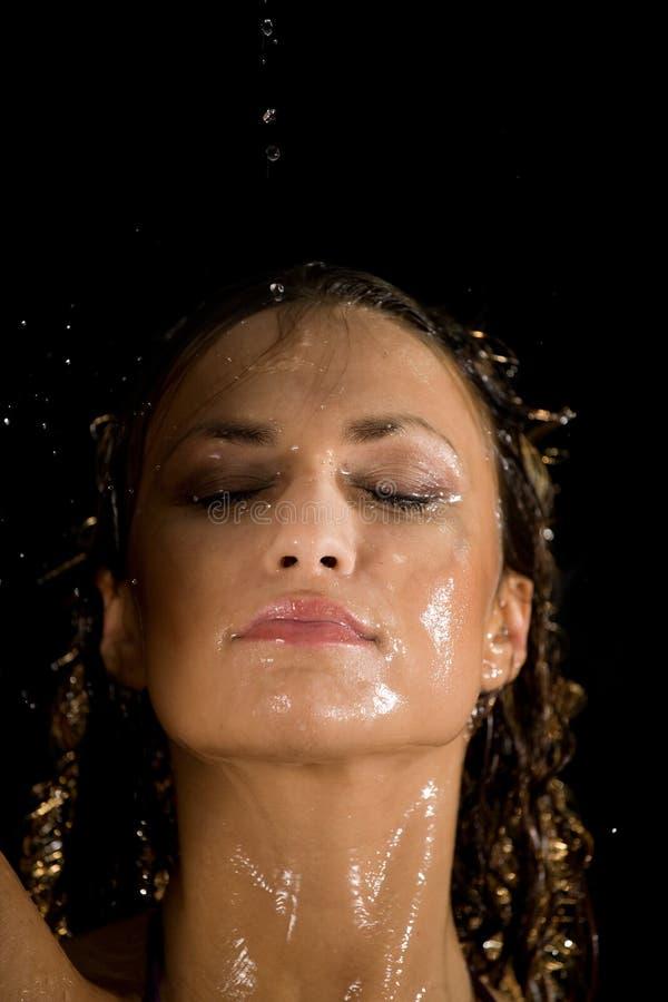 Wasserabdeckung stockfoto