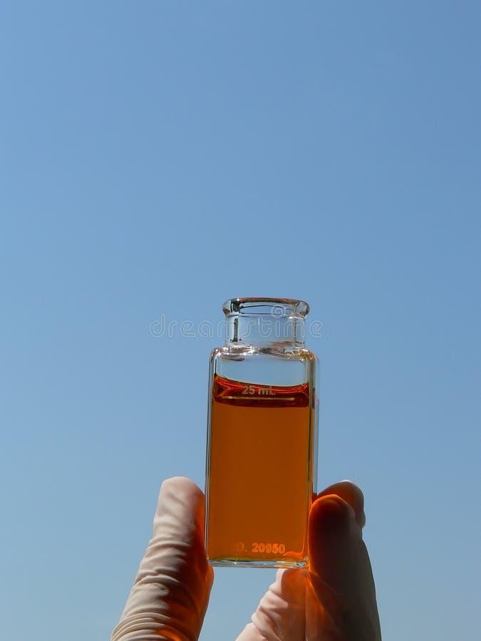 Wasseranalyse lizenzfreie stockfotografie