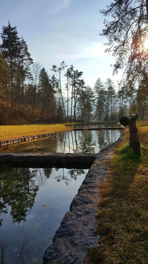 Wasseransicht lizenzfreie stockbilder