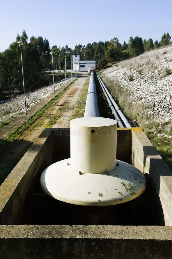 Wasseraufzugstation stockbilder