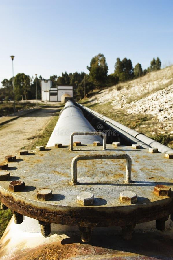 Wasseraufzugstation lizenzfreie stockbilder