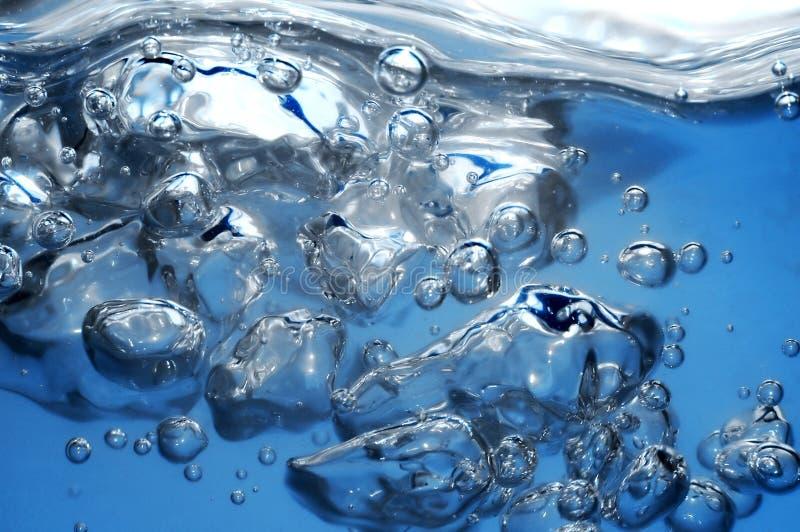 Wasserböe stockbild