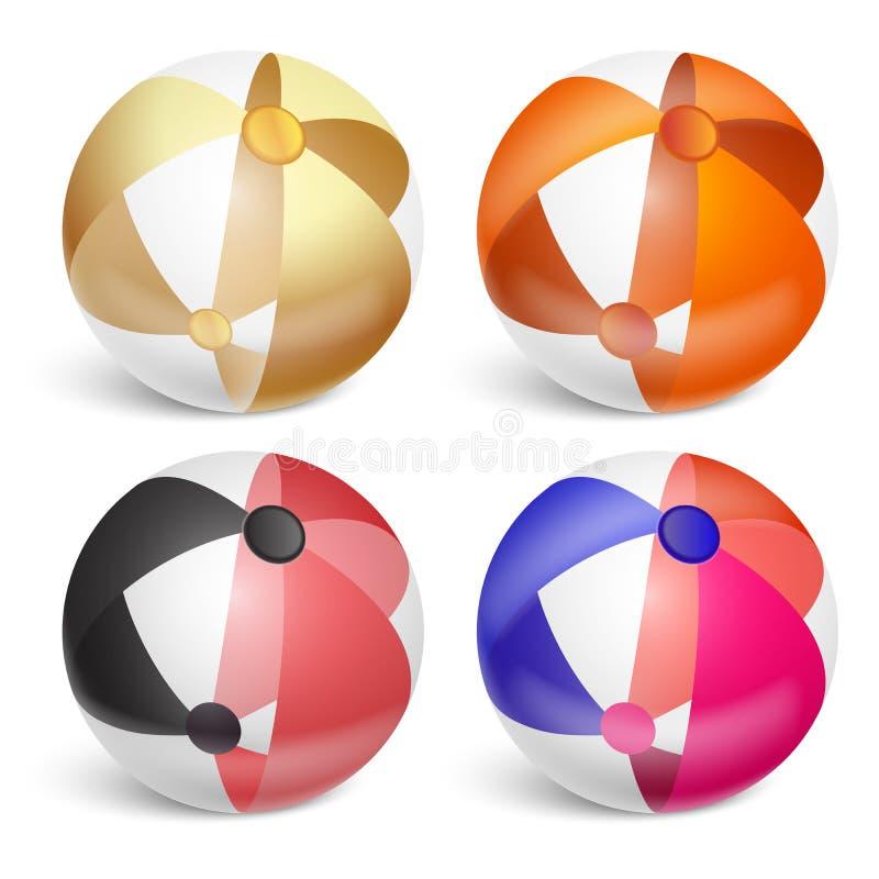 Wasserball stellte 1 ein lizenzfreie abbildung