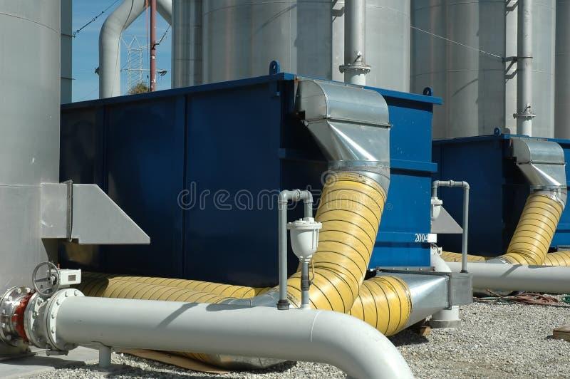 Wasserbehandlung lizenzfreies stockbild