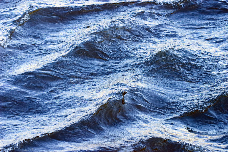 Wasserbeschaffenheit und -wellen lizenzfreie stockfotos