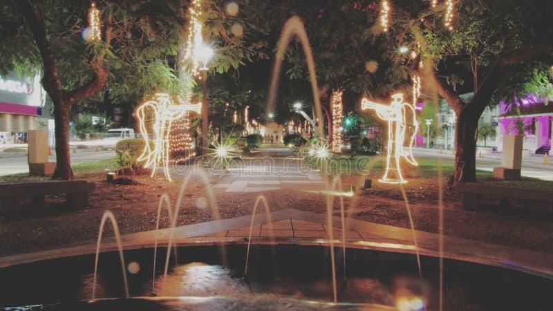Wasserbrunnen, Los Angeles lizenzfreie stockbilder