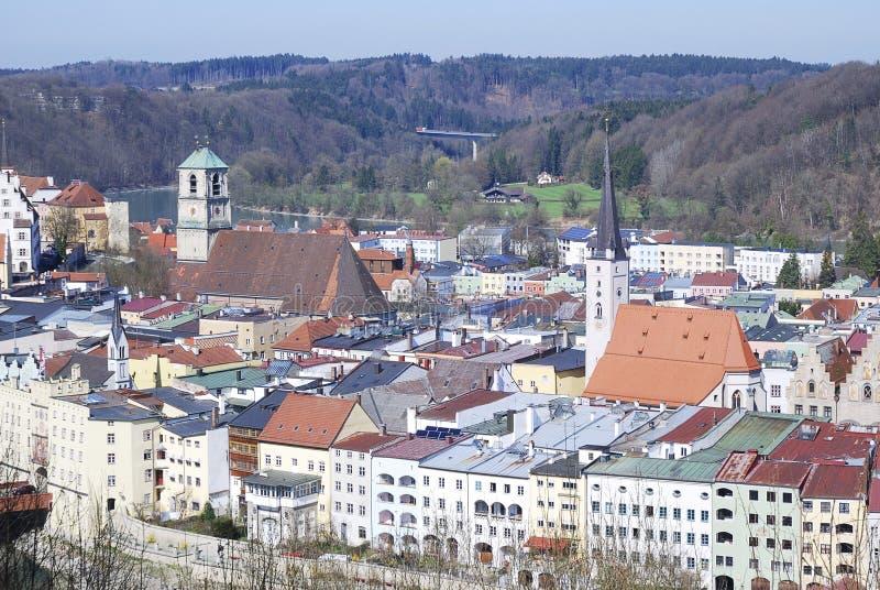 Wasserburg imagem de stock