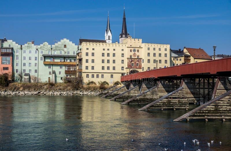Wasserburg, Baviera, Alemanha fotos de stock
