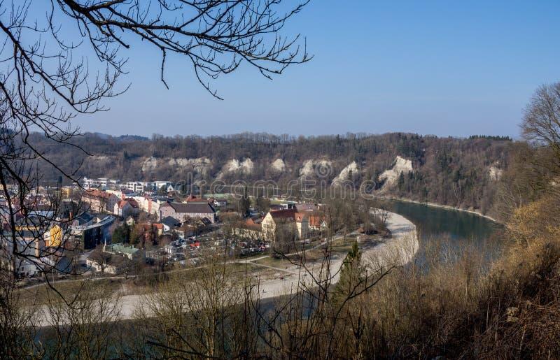 Wasserburg, Baviera, Alemanha foto de stock royalty free