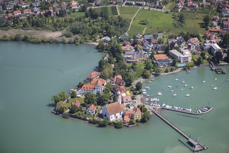 Wasserburg no Bodensee fotos de stock