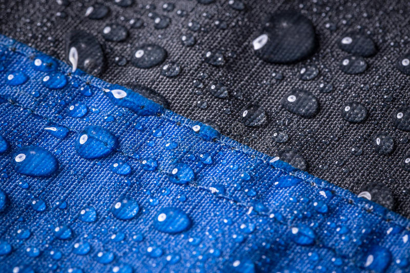 Wasserdichtes Gewebe der Faser lizenzfreie stockfotos