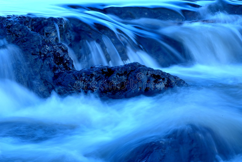 Wasserfälle 2 stockfotografie